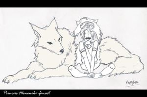 Princess Mononoke by KatTheGrrreat