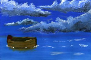 Boat at sea by rev-Jesse-C