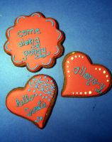 Dr Who Valentine Cookies 2 by Sadeira