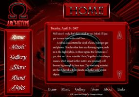 Webpage Design Layout by omegaarchetype