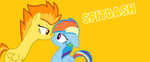 MLP - SpitDash 'Hot Staring Contest' by SapphireSkies24