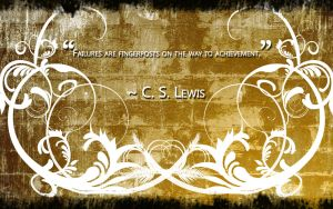 C.S. Lewis Quote by ValencyGraphics