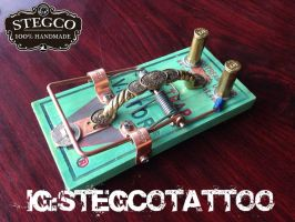 Stegco Tiffany Tattoo footswitch by Stegco