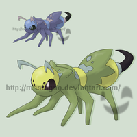 Fakemon Milleon by mssingno