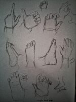practice hands #2 by oceansigh