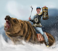 Boston Bruins Hero by Arwen111