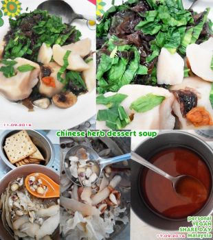Chinese Herb Dessert Soup by Doll1988