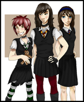 Hogwarts Babes by Purple-Twilek
