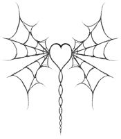 Web-winged Heart by Flesh-Etched-Heart