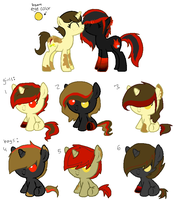 Foals 3- For Mellow-May by Rainbow-ninja-adopts