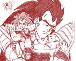 Honnorable Raditz by Paradise-of-Darkness
