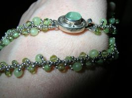 Peridot Chain by YourArtMuse