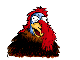 The Gobbledy Gooker by lucapoison