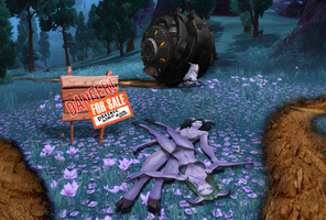 Draenor is not a kind place for Draenei by rainbowdashbeflat