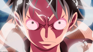 Luffy Pissed Off by Hansih2