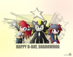 Happy B-Day 2 Shadowhog XD by Dj-Reverberance