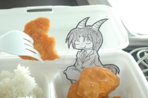 The Devil Has My Nuggets by RagingChaosGod
