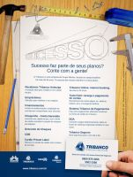 Building Mag 2nd ad - Tribanco by Adhago
