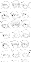 Rock Lee Hairstyles XP by Numbuh-9
