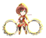 Dynasty warriors 8: chibi sun shang xiang by sasucchi95
