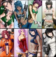 MT: Girls with Guns by Manga-Tutorials