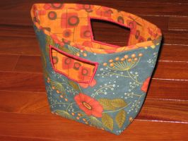 flower tote by peaceocake