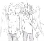 Gryphon and Felix   c: by gryphonslade