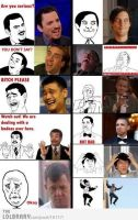All meme faces by cosenza987