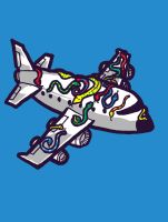 Snakes on a Plane, literally by biotwist