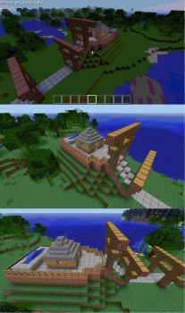 minecraft shrine by robin1992