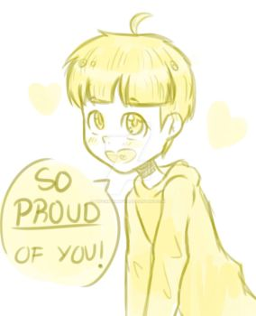 i want jyushi to be proud of me by PuffinPerMuffin
