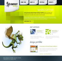 Web layout psd html FREE :14 by 14koles14