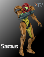 XNALara Smash Bros Wii U Samus model (DOWNLOAD) by Varia31