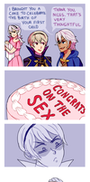 Niles' Gift Comic by Amphany