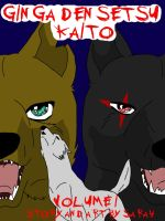 ginga densetsu kaito cover 1 by articwolfproductions