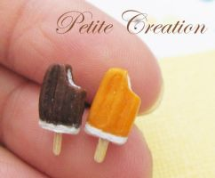 ice cream popsicle earrings2 by PetiteCreation