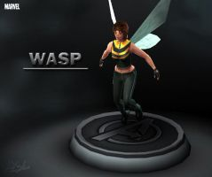 Marvel - Wasp by davislim