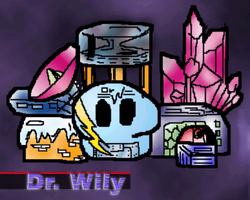 Dr. Wily's Skull Fortress by thenonhacker