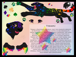 Tikami Feral Reference by TikamiHasMoved