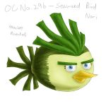 OC No. 29b - Seaweed Bird Nori by RiverKpocc
