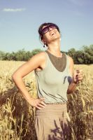 Laughter and Sun by andrea-ioana