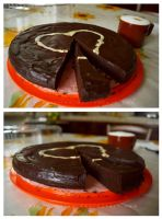 Chocolate cake by 14th-division