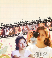 Happy Birthday Seohyun by myeolchi-shar