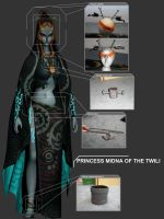 Midna Accessories Commission by Liquidfire3