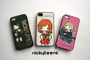NickyToons iPhone Cases by NickyToons