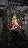 Loncon3 Iron Throne by blakemont