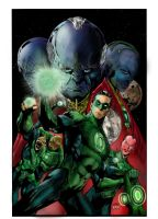 Green Lantern Corps by superjabba425