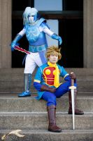 MTAC 2012 - Golden Sun | Saturos + Isaac by elysiagriffin