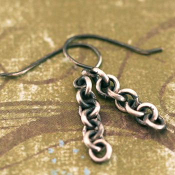 Chain Gang Earrings by xodropdeadox