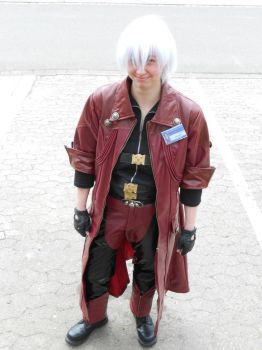 Devil May Cry - Dante - Grin from ear to ear! by Mada-Chan2009
